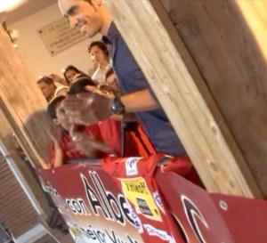 El Pequeño Nicolás en la recepción del ayuntamiento de Pinto a Alberto Contador. Fotografía: Yo Soy de Pinto