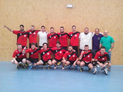 Componentes del Club de Balonmano Pinto. Fotografía: Club de Balonmano Pinto.