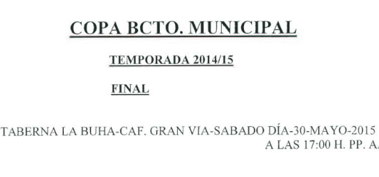 Horarios Baloncesto. Semana del 11 al 17 de mayo. Fuente: Ayuntamiento de Pinto.