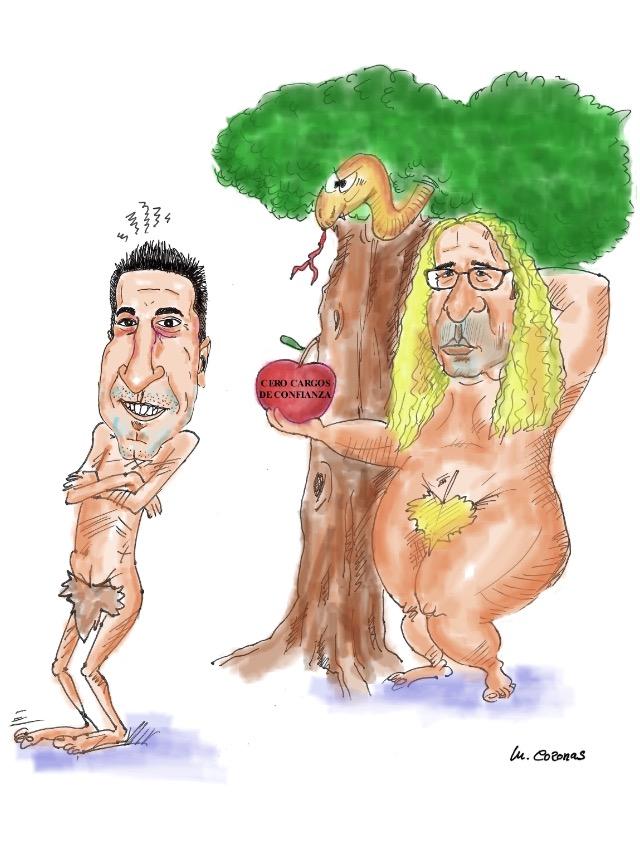 La manzana de la investidura