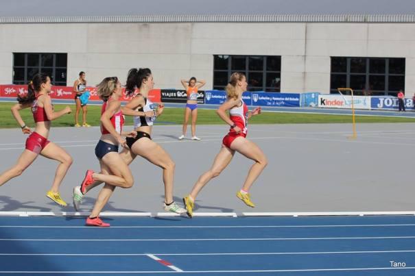 Noelia Pacheco durante el Campeonato de España de Federaciones. Fotografía: Noelia Pacheco.