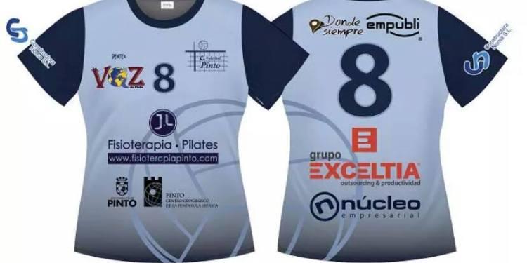 El C.V. Pinto estrena camiseta para la temporada 2015/2016.