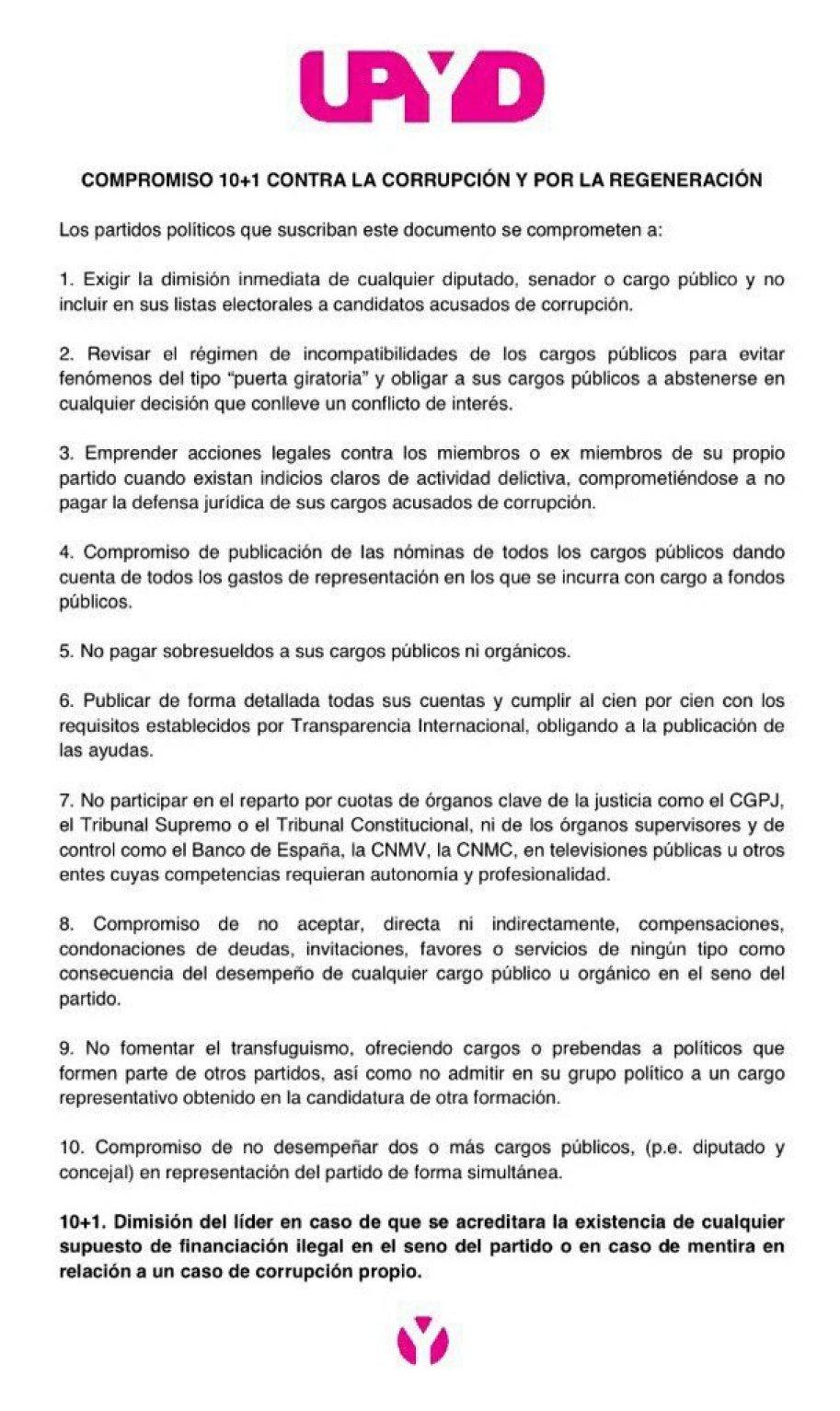 manifiesto 10+1
