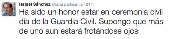 Tuit @rafasanchezmia