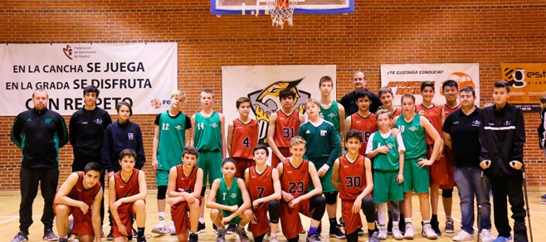 Pinto deja tras de sí un intenso torneo de baloncesto Chus Academy