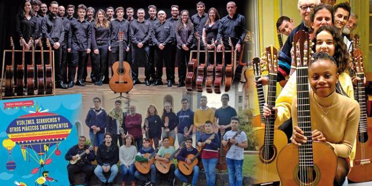 Conciertos y actividades musicales durante las próximas semanas en Pinto.