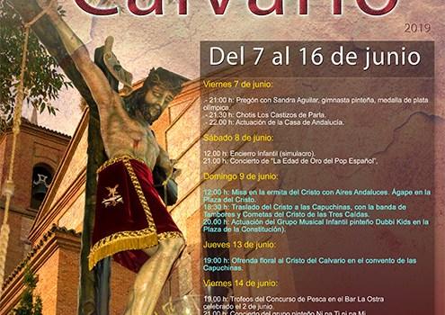 Nueva edición de las Fiestas del Cristo del Calvario