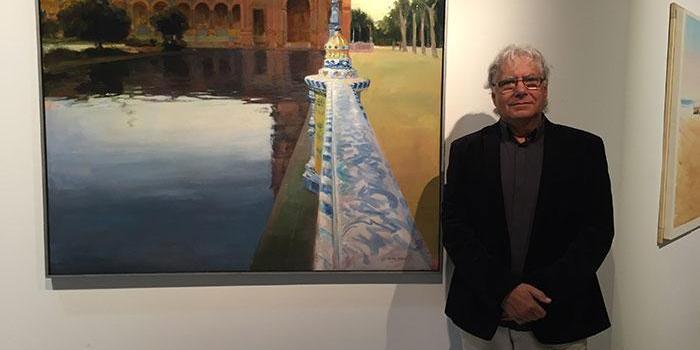 El Ayuntamiento de Pinto ofrece un taller de dibujo y pintura que imparte el pintor Ramón Córdoba en el Centro Miguel Ángel Blanco.