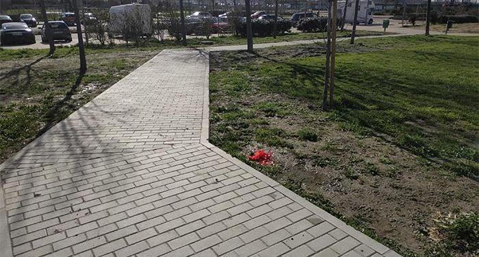 Desde el área de Medio Ambiente se han realizado varias obras. Recientemente han terminado los trabajos de adecuación de los pasosde peatones