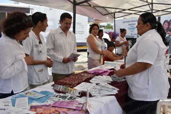 Gobierno municipal de Chalma pone en marcha la Feria de la Salud 2017. Foto: LVDT.