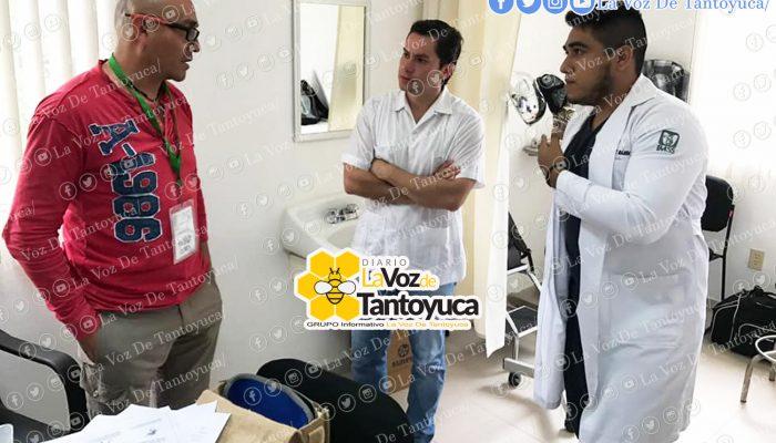 Supervisa alcalde nueva unidad médica del IMSS en Chalma. Agencia LVDT.