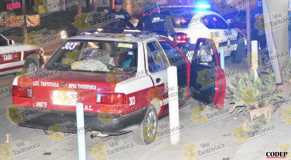 El hoy occiso conducía el vehículo de alquiler marcado con el número económico 303 | LVDT