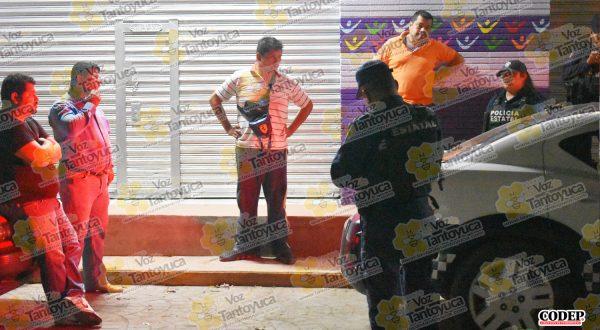 Al lugar arribaron elementos de la Policía del Estado, quienes calmaron la situación | LVDT
