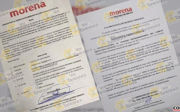 A la fuerza quiere Gonzalo Vicencio la presidencia de MORENA, en Veracruz
