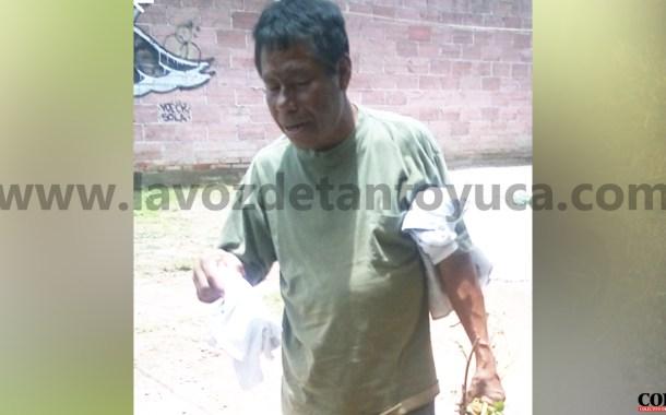 Buscan en Tantoyuca a familiares de hombre hospitalizado en Hidalgo