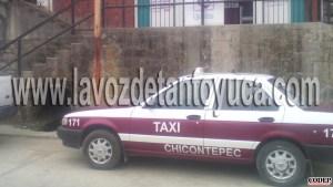 Por el probable delito de homicidio doloso calificado detienen a taxista en Chicontepec