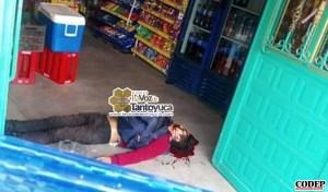 Ejecutan a hombre que intentaba asaltar una tienda | Redes Sociales