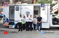 Entrega alcalde unidad médica móvil al Sistema DIF Municipal, en Chicontepec