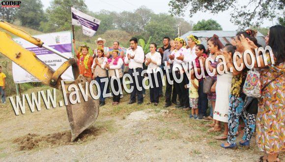 Inician la construcción del sistema de agua potable en la Colonia Los Manantiales en Chicontepec   LVDT