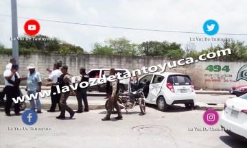 Motociclista resulta lesionado en choque | LVDT
