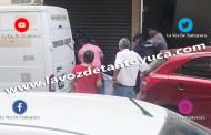 Hallan a un hombre ahorcado al interior de un edificio, en Tantoyuca