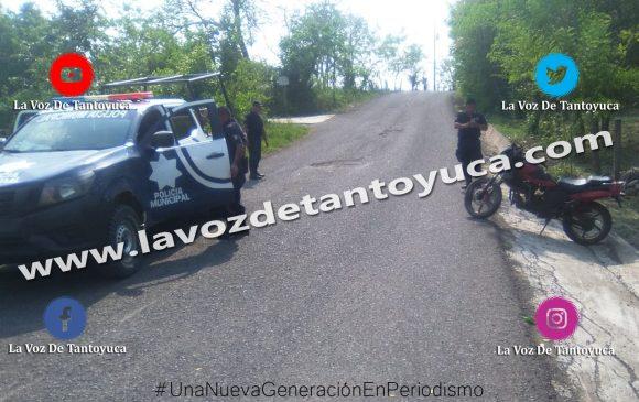 Sufren accidente de moto jóvenes estudiantes del COBAEV   LVDT