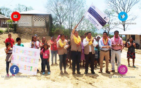 Inician obras sociales en Zacahuztitla e Ixtle Flores Magón, en Chicontepec | LVDT