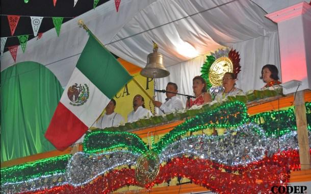 Da David Guzmán Martínez tradicional Grito de Independencia