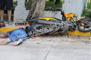 Asesinan a mujer tras intentarle robar su motocicleta   LVDT