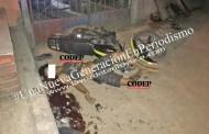 Muere menor de edad en accidente de moto, en Tantoyuca