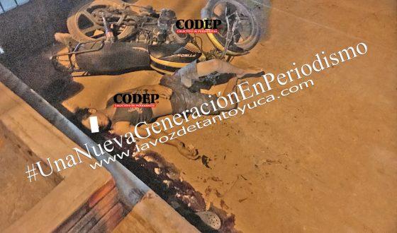 Muere menor de edad en accidente de motocicleta, en Tantoyuca | LVDT