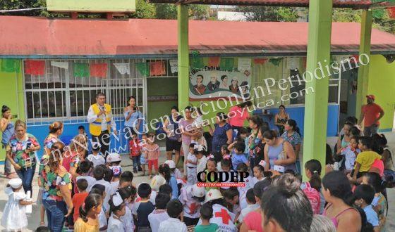 Realiza Transporte Público simulacro en Jardín de Niños en el Día Nacional de la Protección Civil   LVDT