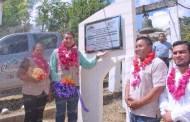 Inaugura Pedro Adrián Martínez Estrada techado escolar en Zacahuixtitla