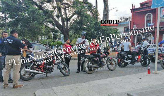 Implementa Tránsito Municipal operativo Casco Seguro | LVDT