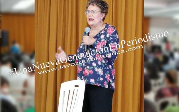 Bertha Luján hace llamado a la participación y a la unidad de militantes