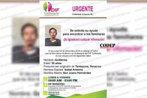 Buscan a familia de tantoyuquense extraviado en Cadereyta | LVDT