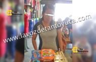 Detienen a mujer tras intentar robar mercancía de un supermecado