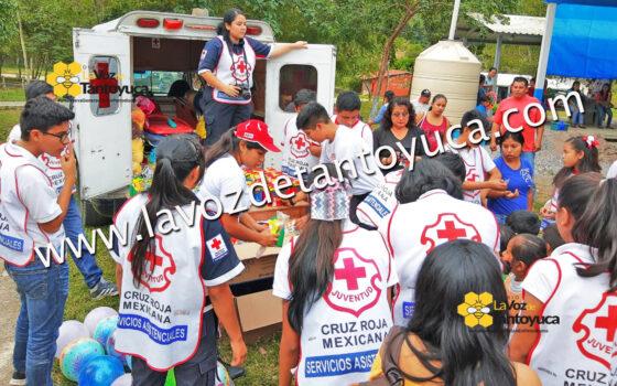 Llega la Feria de la Alegría a comunidades indígenas de Tantoyuca | LVDT