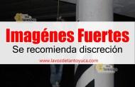 Cuelgan cuerpo sobre la autopista Acayucan-Cosoleacaque