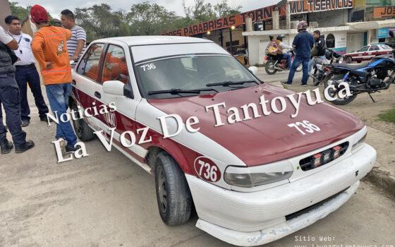 Taxista provoca percance vial | LVDT
