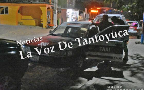 Taxista arrolla a hombre de la tercera edad; resultó con lesiones leves | LVDT