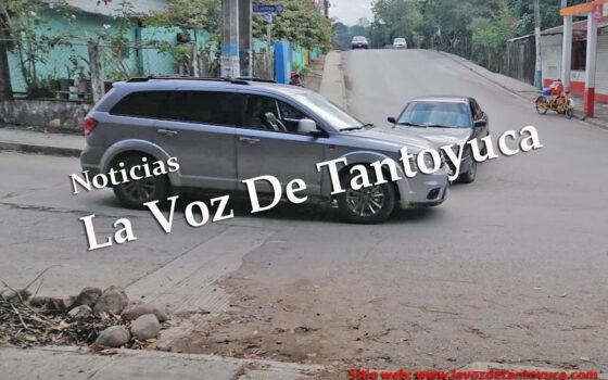 Percance vial deja solo daños materiales, en Tantoyuca | LVDT