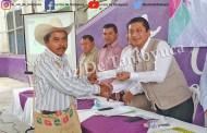 Chicontepec, es el primer municipio en remunerar a sus agentes y sub agentes municipales