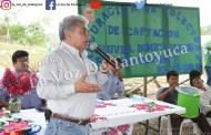 Inaugura Amado Guzmán instalación de 76 captadores de agua en Palmar Primero