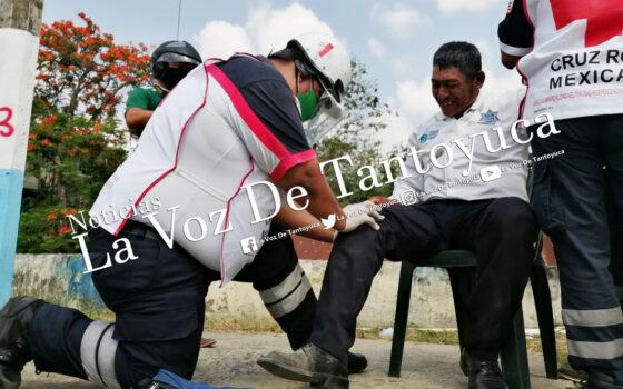 Oficial de Tránsito y Vialidad resulta lesionado en accidente vial | LVDT