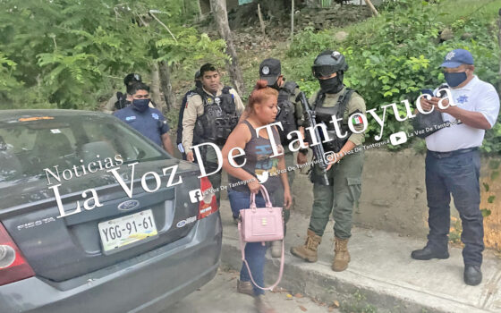 Detienen a ebria mujer tras provocar percance | LVDT