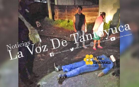 Por defender a su esposo asesinan a mujer en Huayacocotla    LVDT