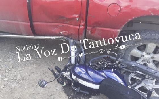 Motociclistas resultan heridos tras percance vial | LVDT