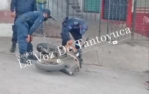Localizan motocicleta abandonada en la Zona Centro   LVDT