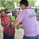 Continua Pedro Adrián Martínez Estrada con entrega de despensas a familias vulnerables   LVDT
